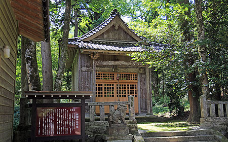 椋橋神社 社殿